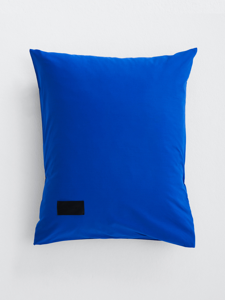 Pure Pillow Case Poplin - Italian Blue