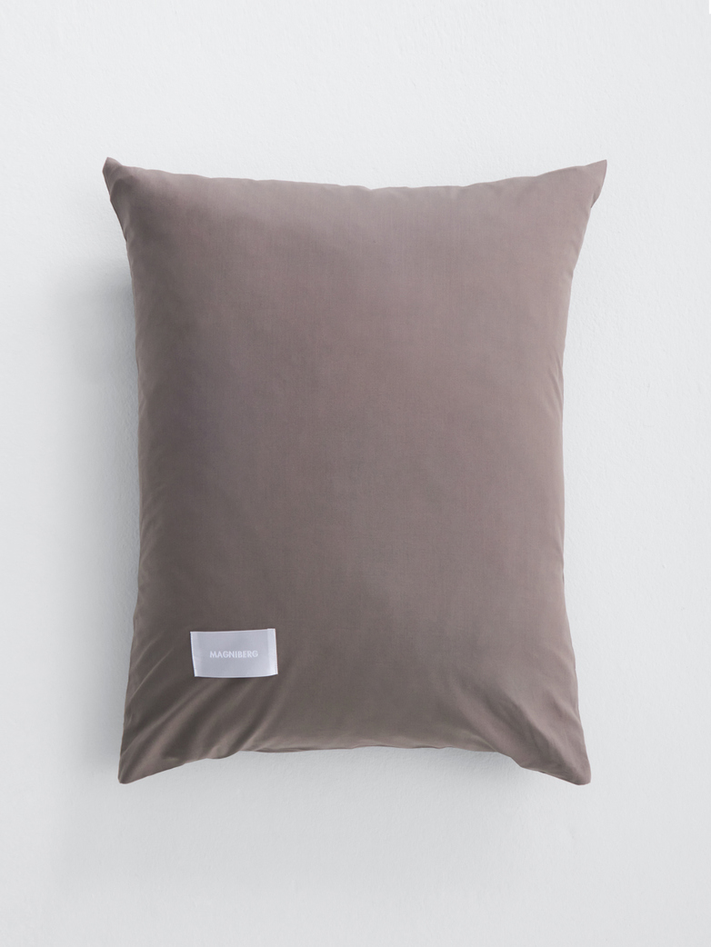 Pure Pillow Case Poplin - Mud