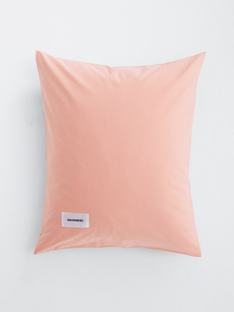 Pure Pillow Case Poplin - Peach