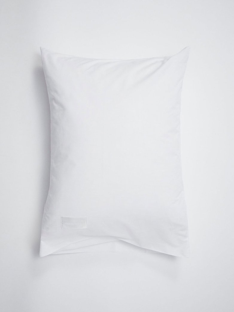 Pure Pillow Case Poplin - White