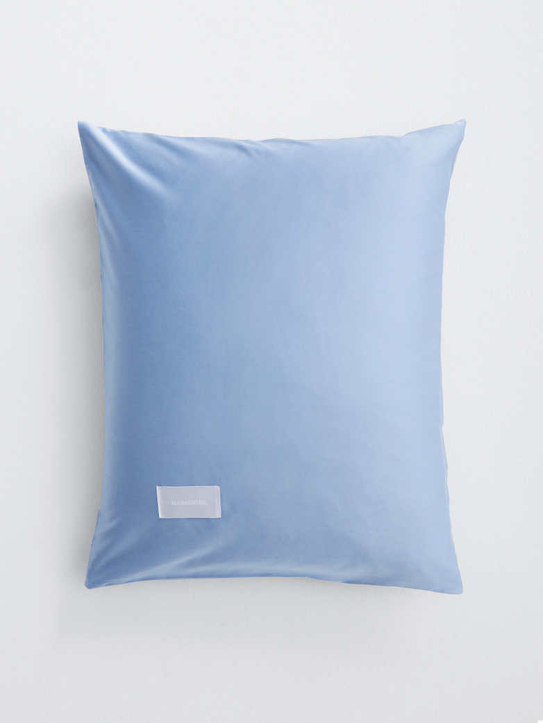 Pure Pillow Case Sateen - Haze Blue
