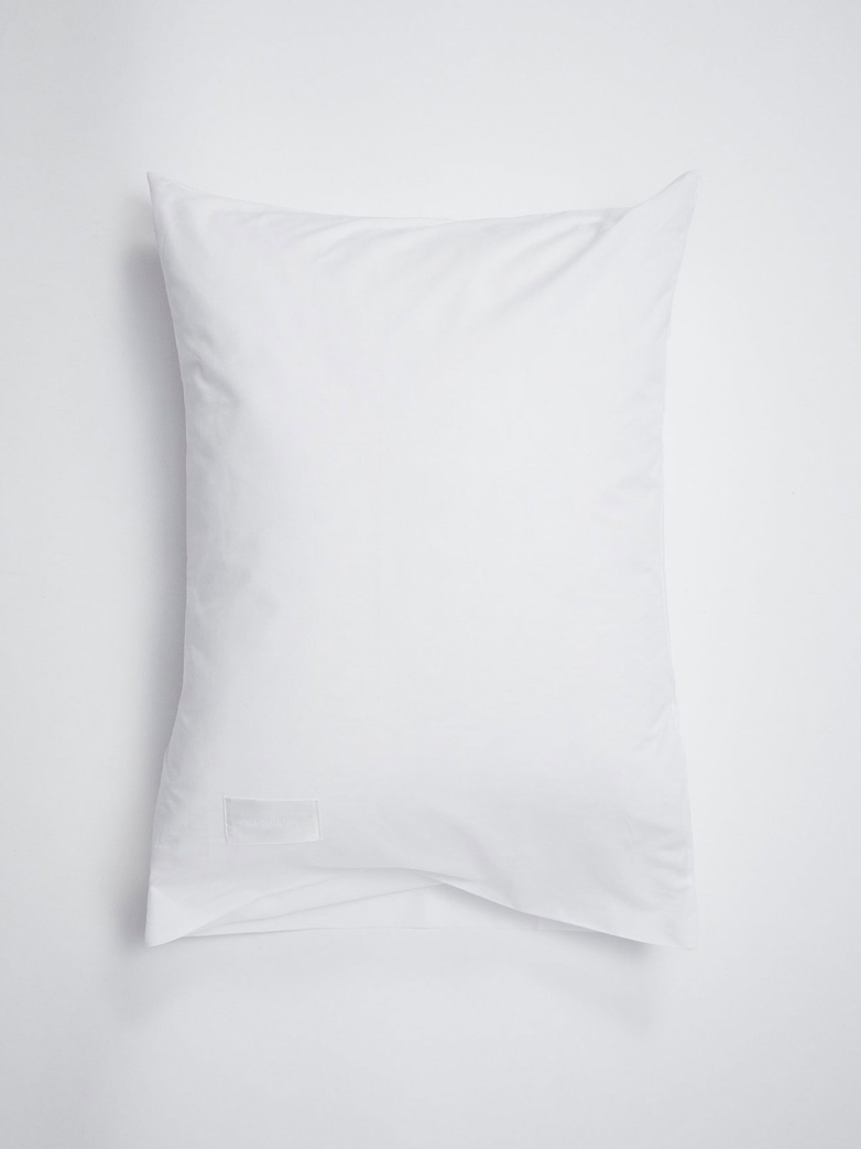 Pure Pillow Case Sateen - White