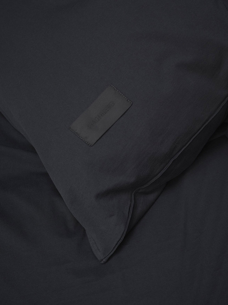 Nude Duvet Cover Jersey 240x220 - Washed Black