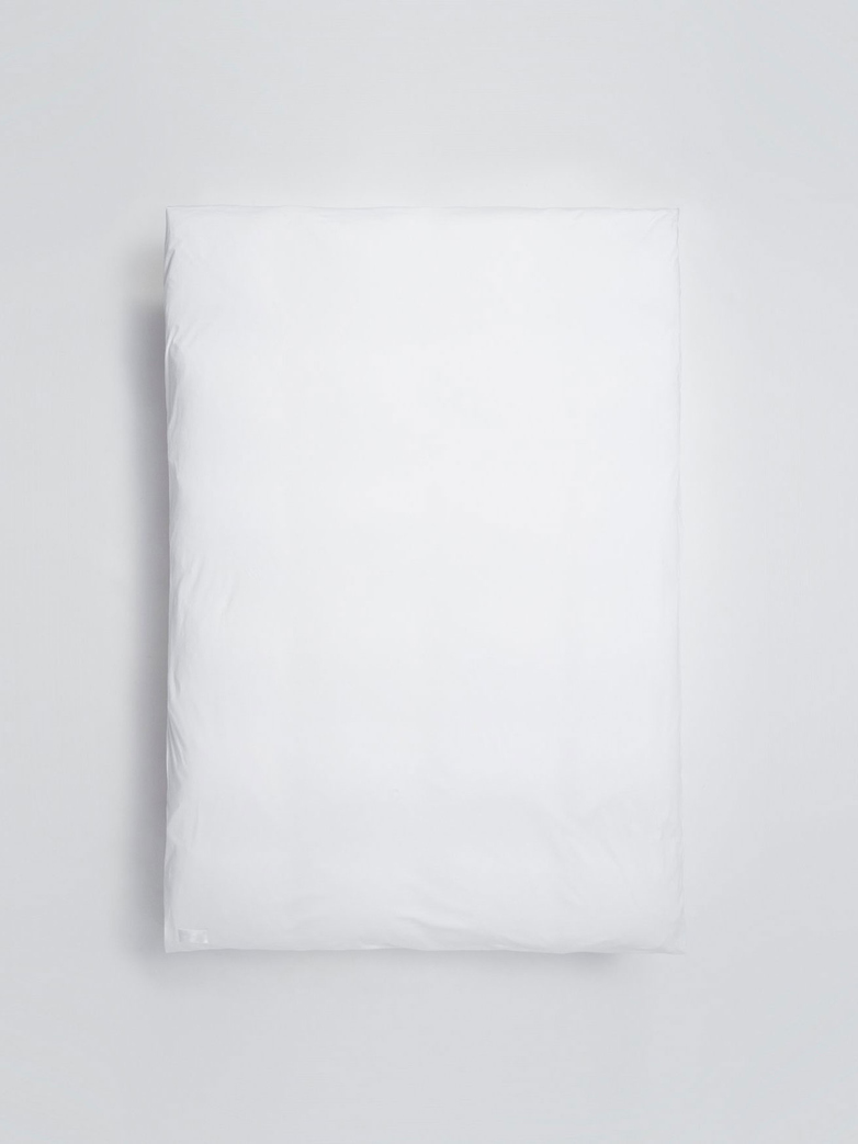 Nude Duvet Cover Jersey - Washed White