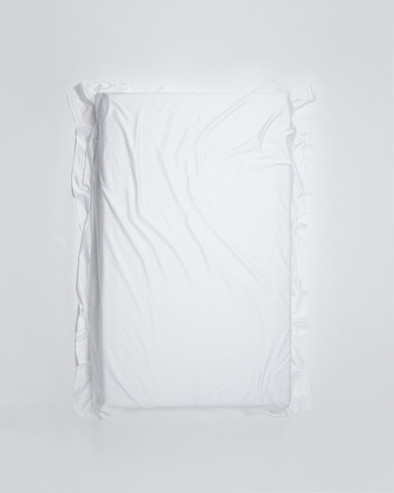 Mother Flat Sheet Poplin 260x280 - White