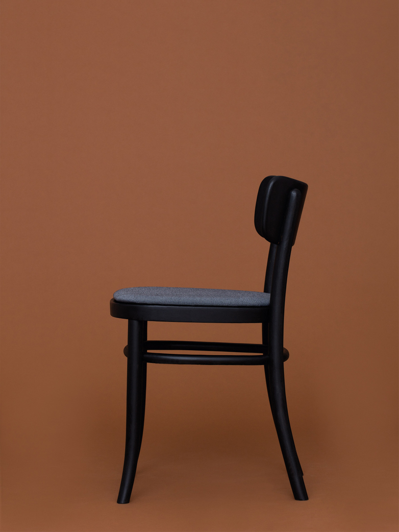 MZO Chair - Black w.upholstery