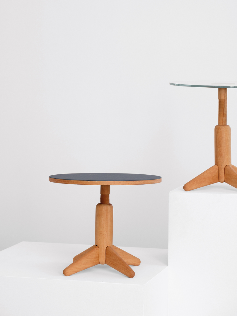 COLUMN Side Table - Glass