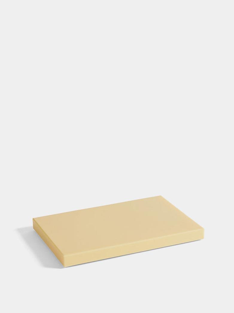 Rectangular Chopping Board - 30 x 20 cm - Light Yellow