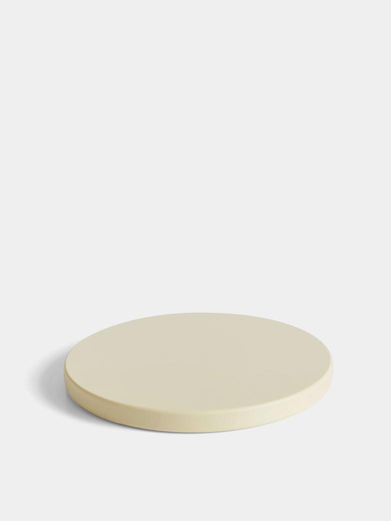 Round Chopping Board - Ø 34 cm - Off White