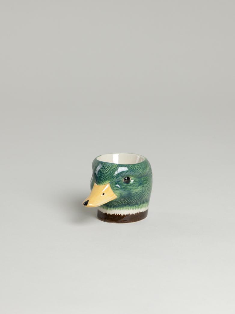 Mallard Face Egg Cup