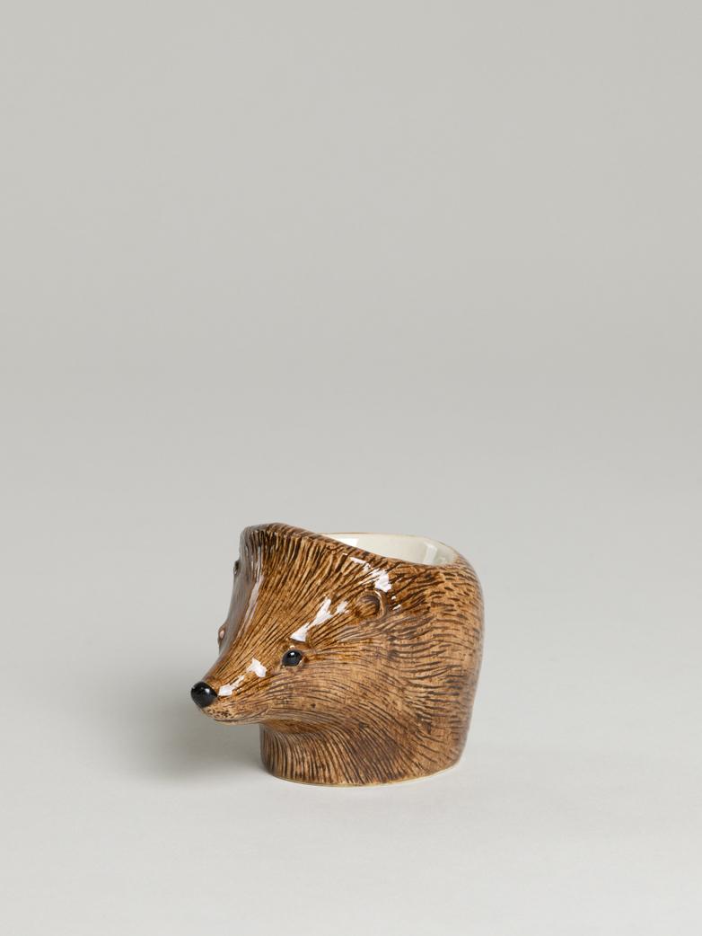 Hedgehog Face Egg Cup