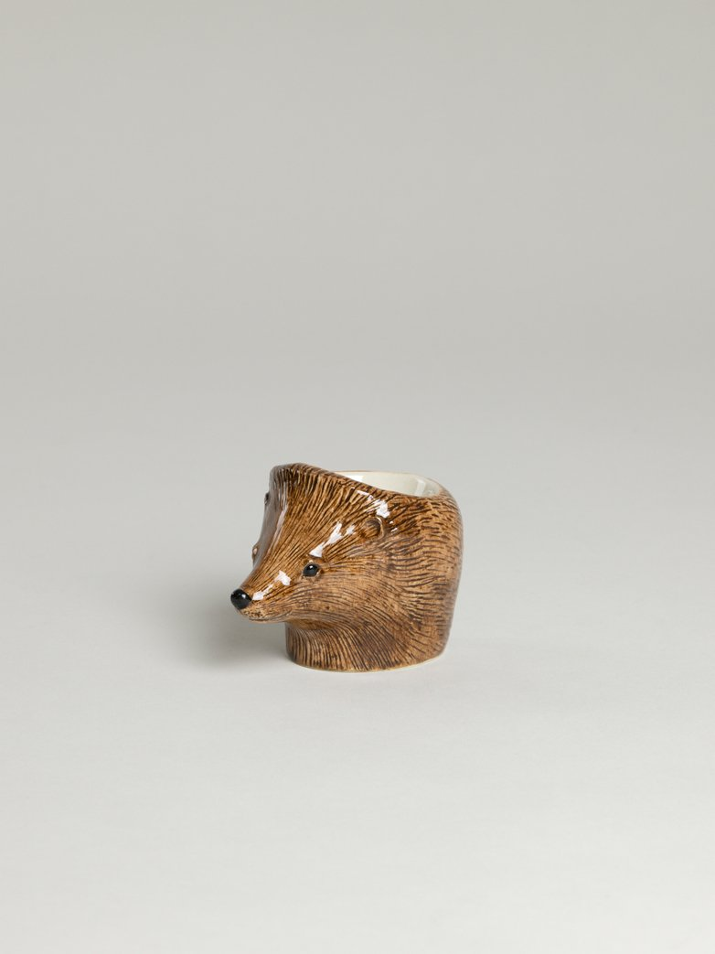 Hedgehog Face Egg Cup