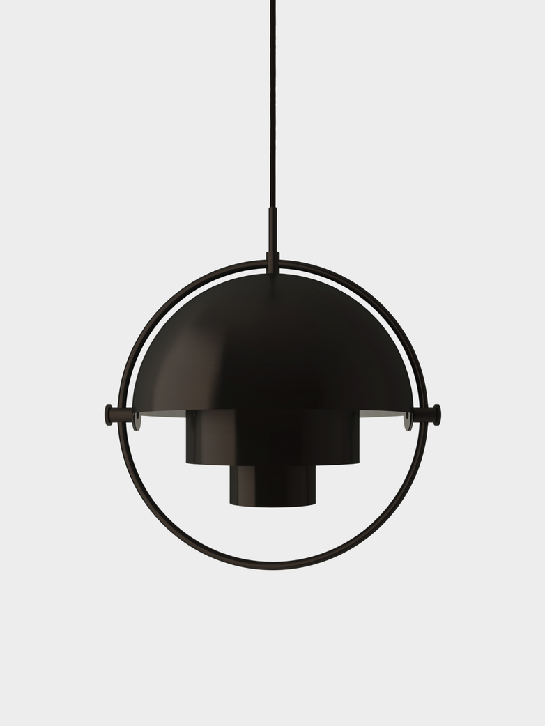 Multi-Lite Pendant - Large - Black Brass