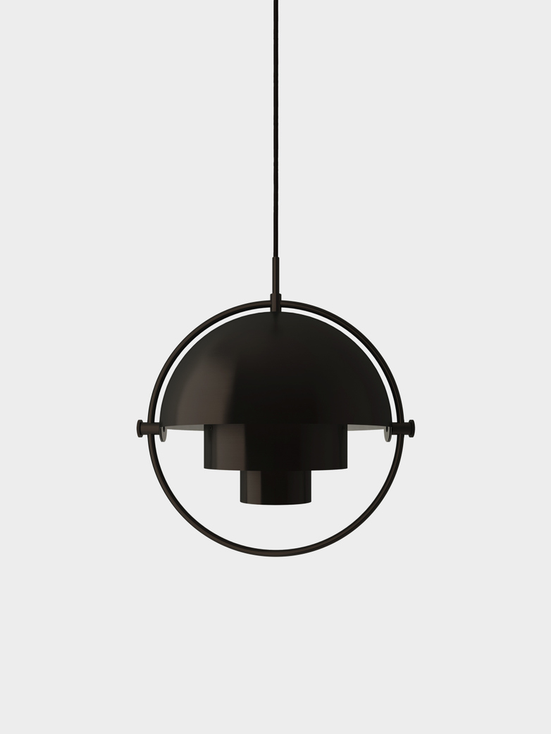 Multi-Lite Pendant - Small - Black Brass