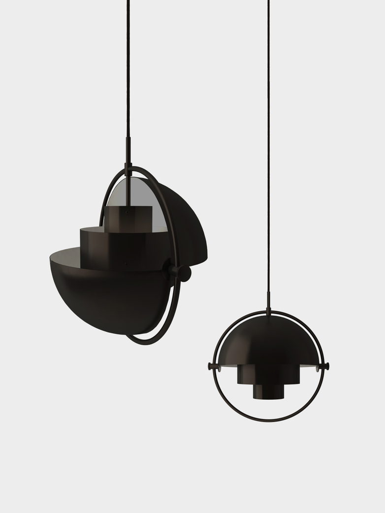 Multi-Lite Pendant -  Black Brass