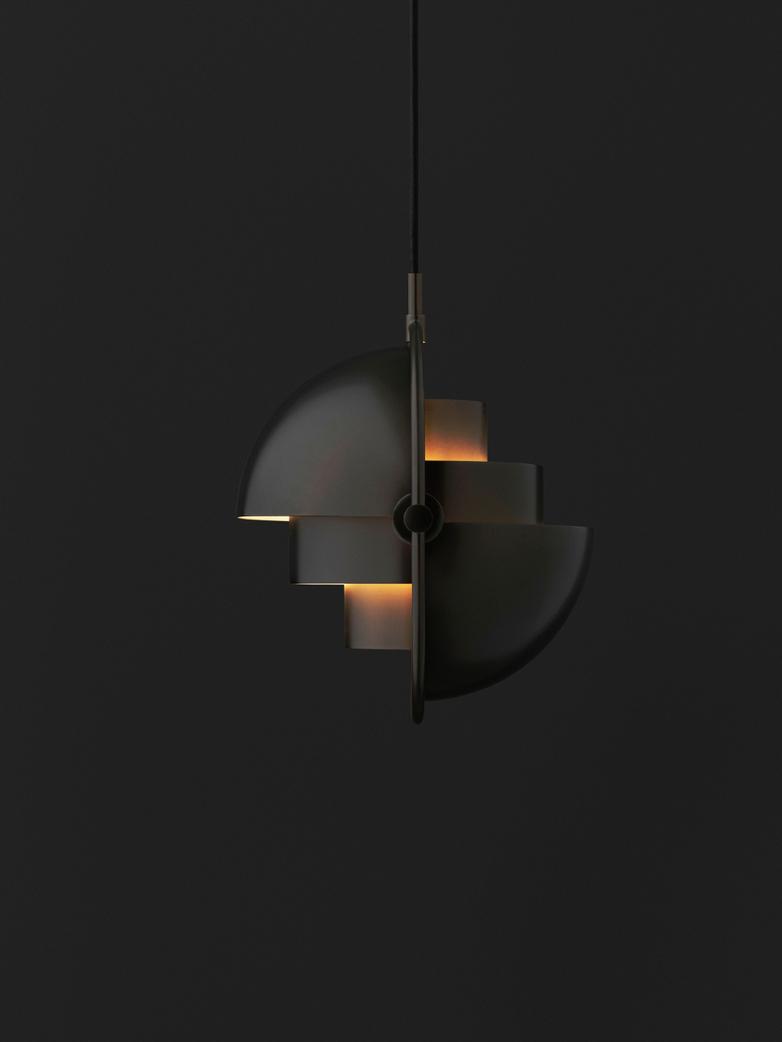 Multi-Lite Pendant -  Black Brass