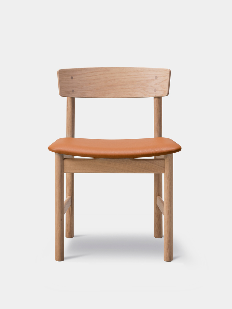 Mogensen 3236 Chair Oiled Oak/Omni Cognac 307