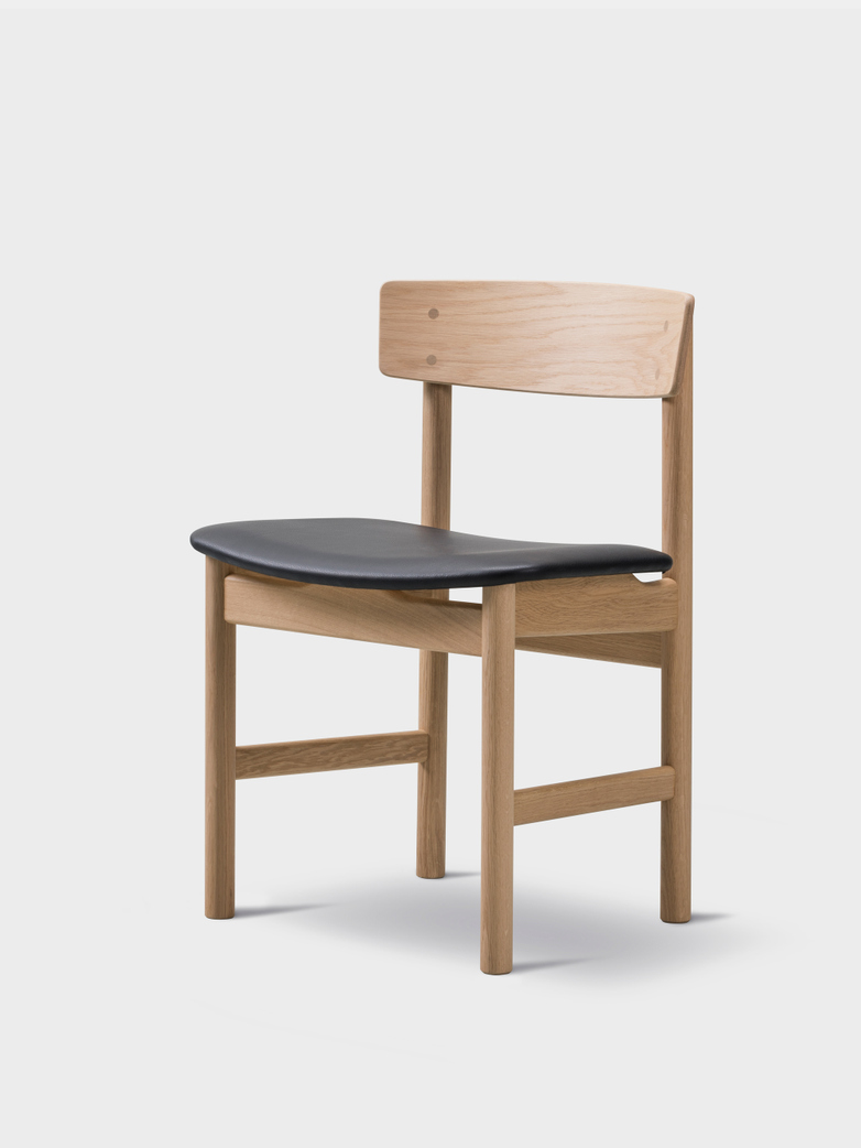 Mogensen 3236 Chair Oiled Oak/Omni Black 301