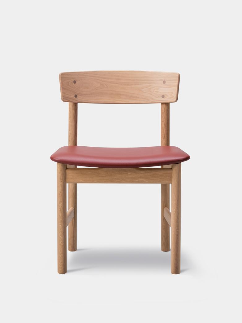 Mogensen 3236 Chair Oiled Oak/Omni Burnt Sienna 293