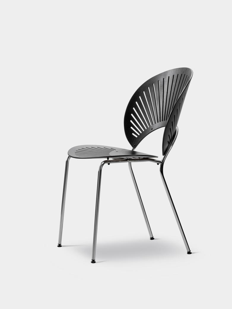 Trinidad Chair - Ash Black/Chrome