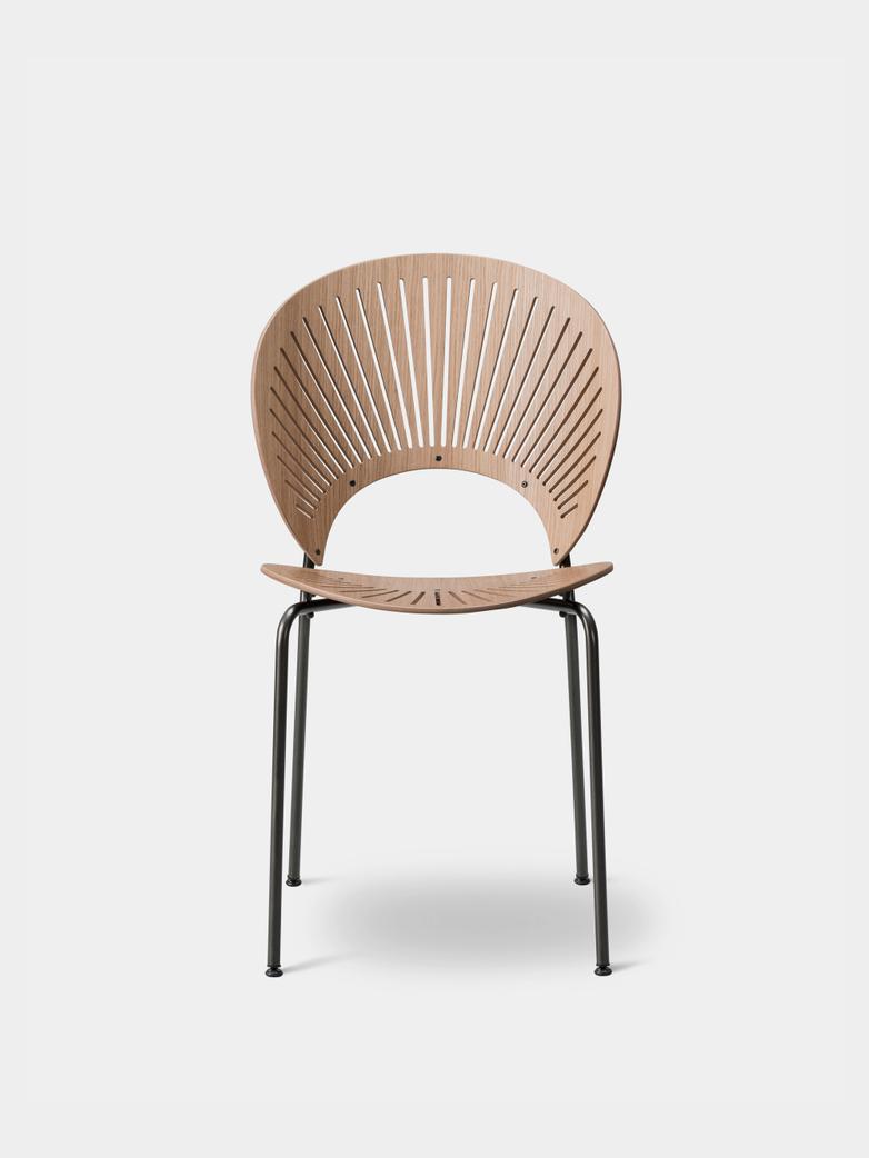 Trinidad Chair - Oak Lacquered/Flint