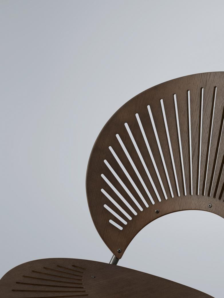 Trinidad Chair - Smoked Oak/Flint