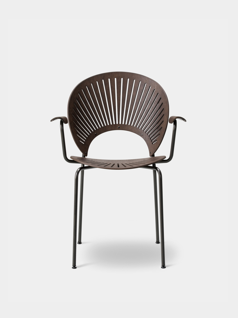 Trinidad Armchair -  Smoked Oak/Flint