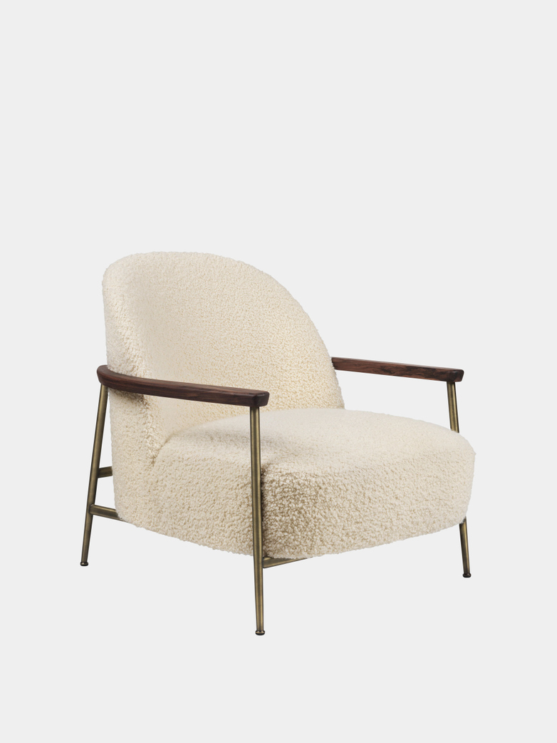 Sejour Lounge Chair - Walnut - Karakorum