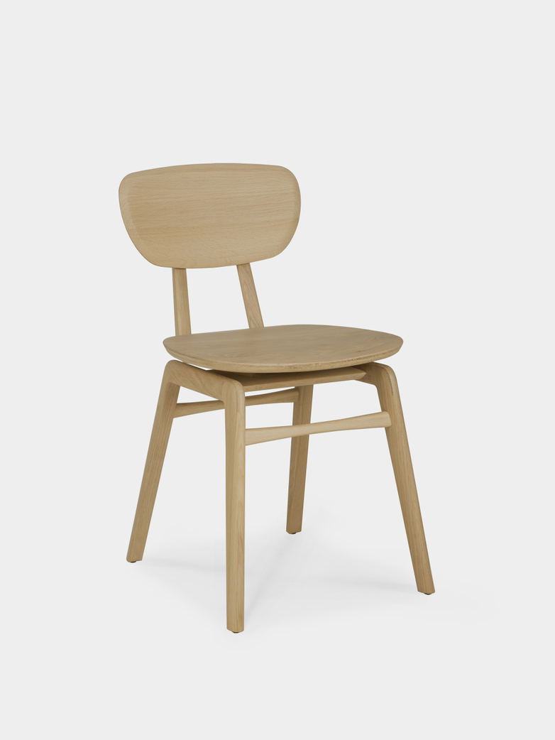 Pebble Dining Chair - Oak