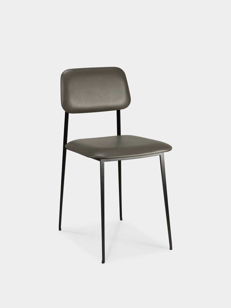 DC Dining Chair - Olive Leather