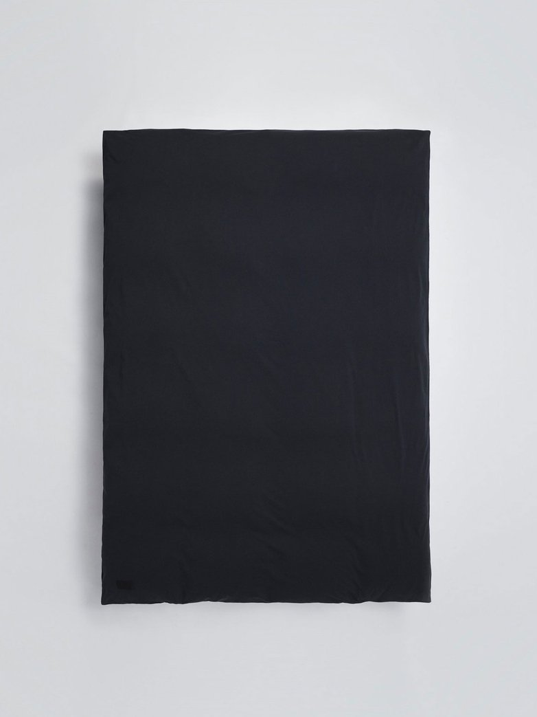 Nude Duvet Cover Jersey - Washed Black