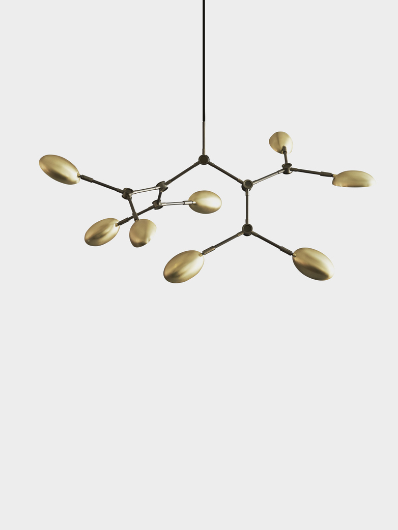 Drop Chandelier Mini – Brass