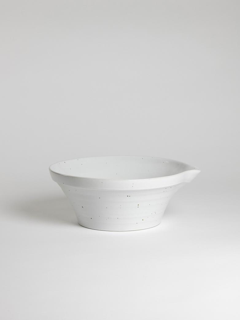 Peep Bowl – Cotton White – 35