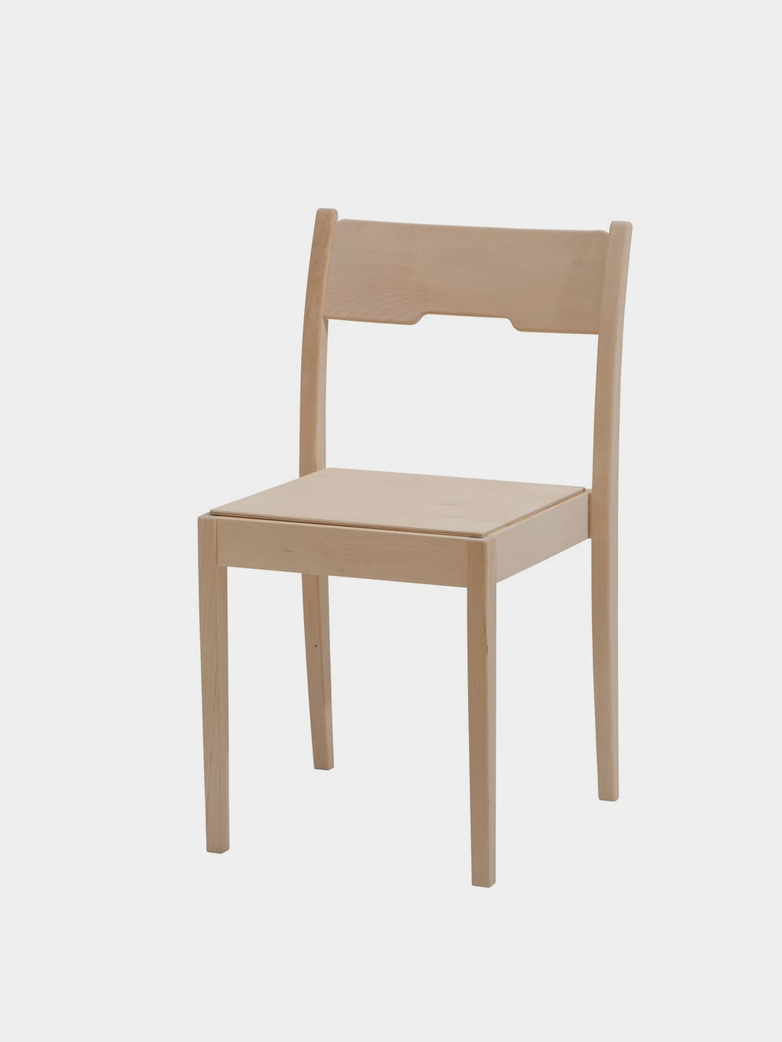 Arnold Wood Seat/Hard Wax White