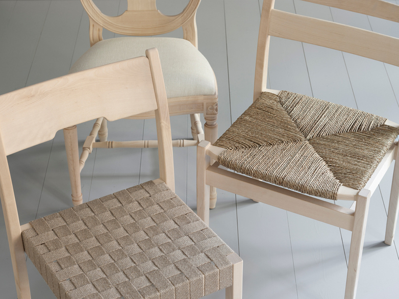 Arnold Braided Seat/Birch Oiled