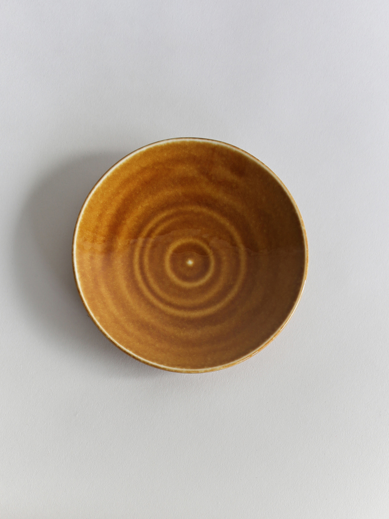 Kyoto Small Plate - Brown