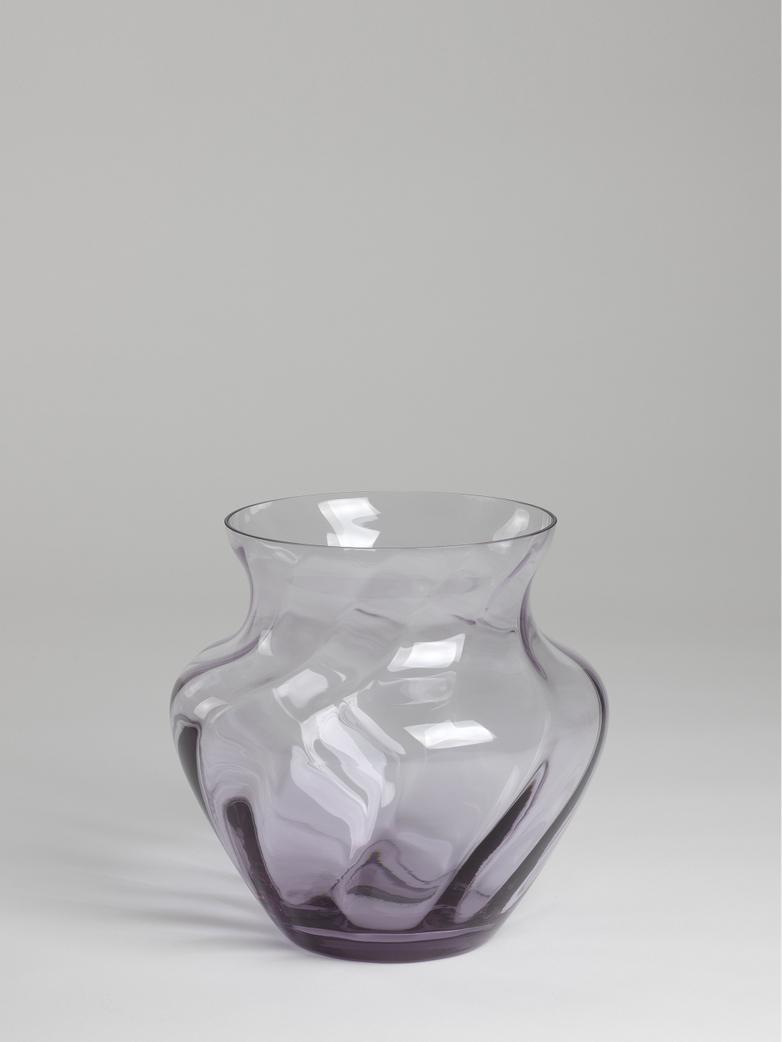 Dahlia Swirl Vase – Lilac