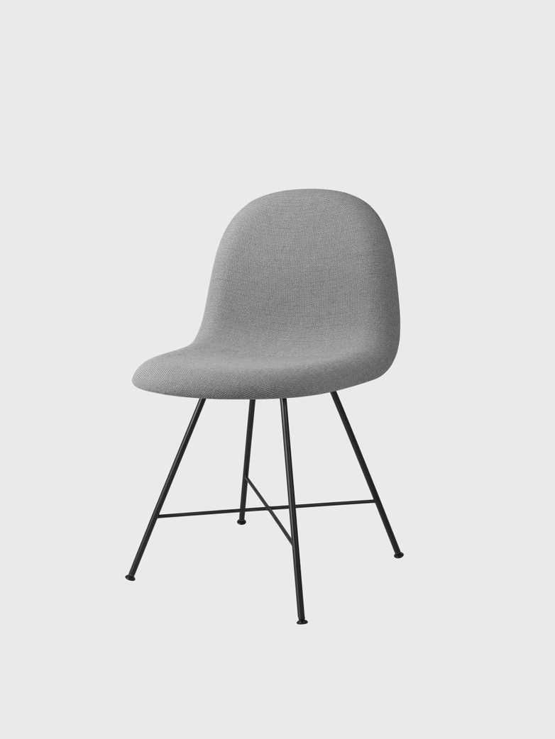 3D Dining Chair Upholstered - Center Base