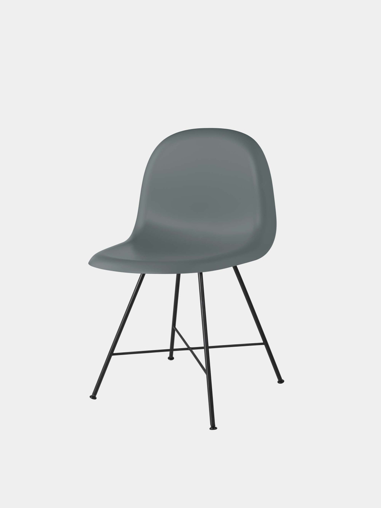 3D Dining Chair Un-Upholstered Hirek/Center Base