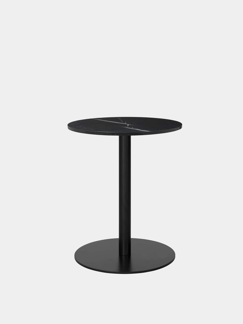 Gubi 1.0 Dining Table Round Ø60 - Black Base