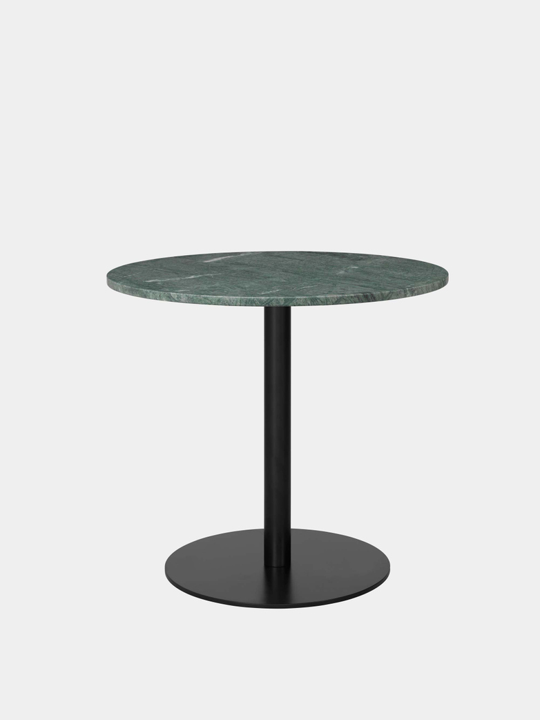 Gubi 1.0 Dining Table Round Ø80 - Black Base