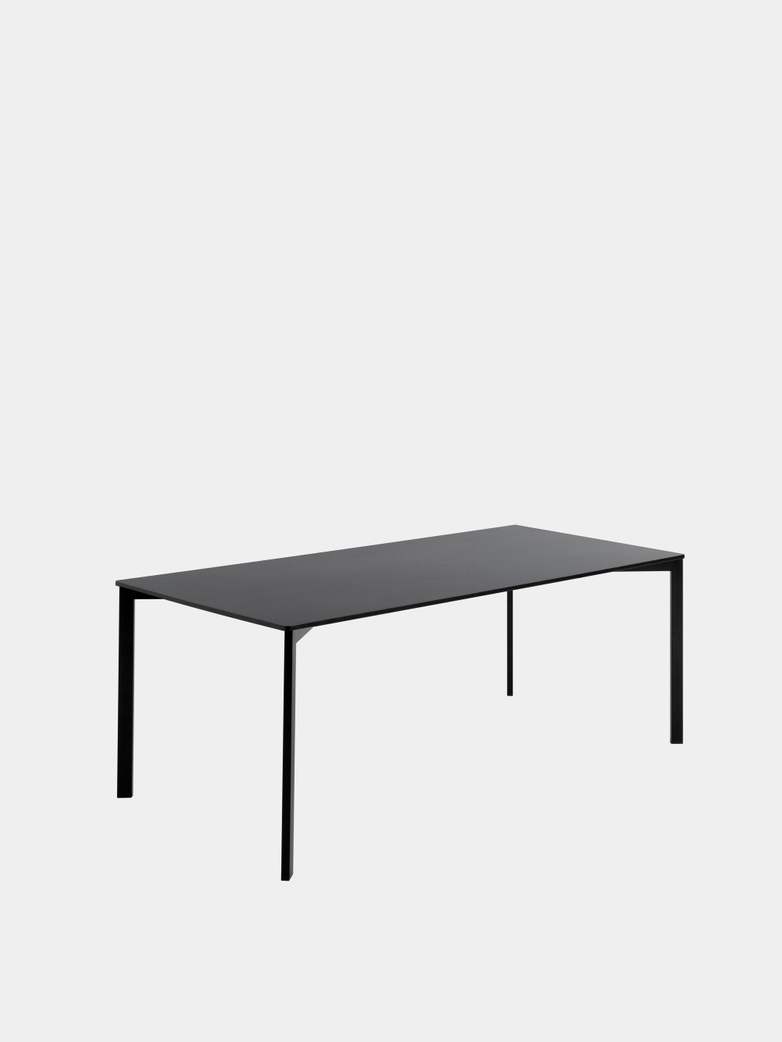 Y! Dining Table - Nano Laminate Black