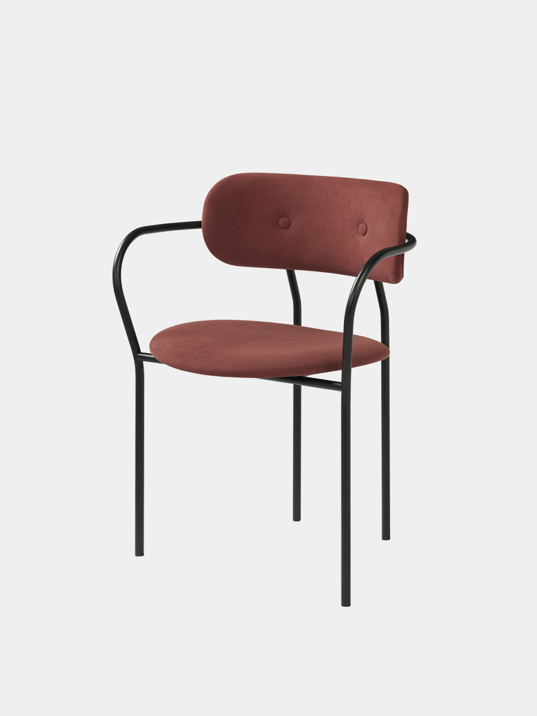 Coco Dining Armchair Fully Upholstered