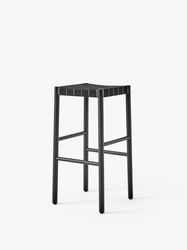 Black/Black Webbing  - 76 cm