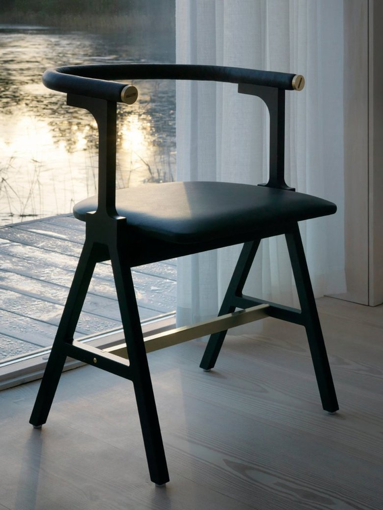 NEB Chair NSW - Tärnsjö Leather