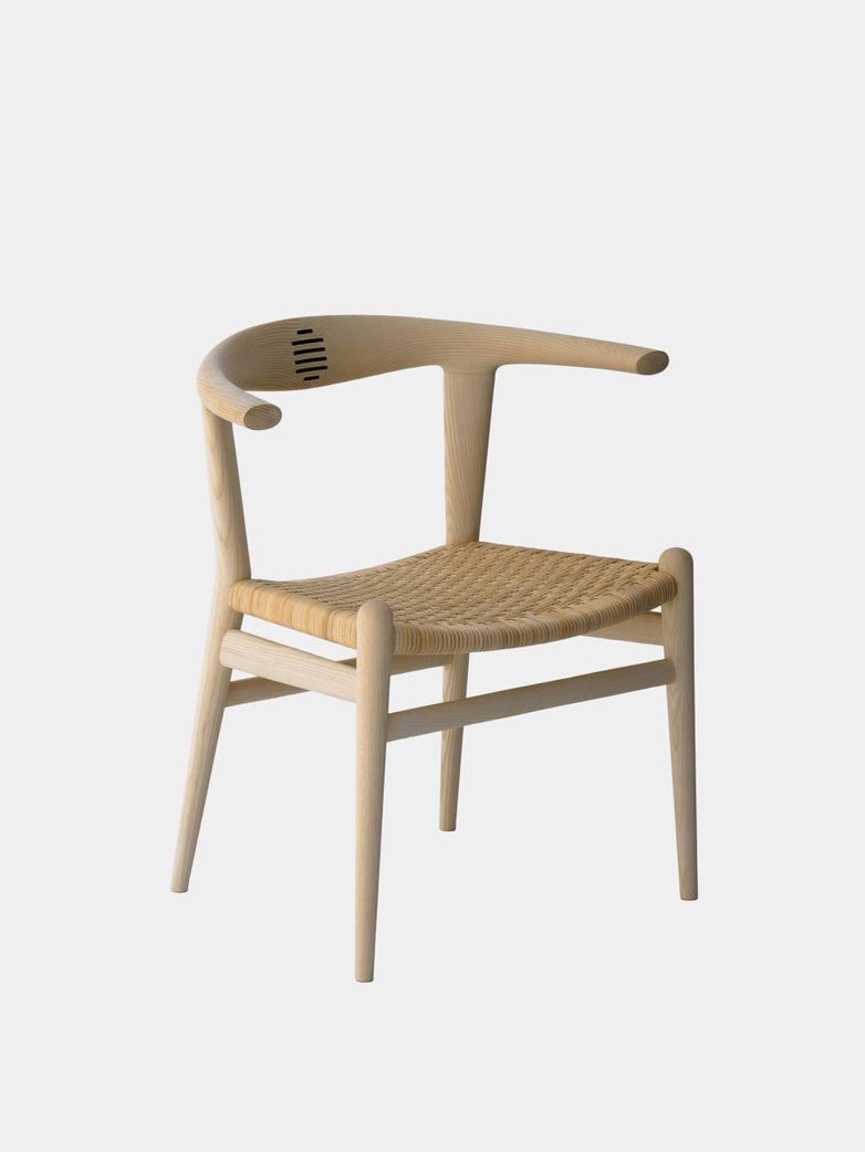 PP518 Bull Chair  - Cane