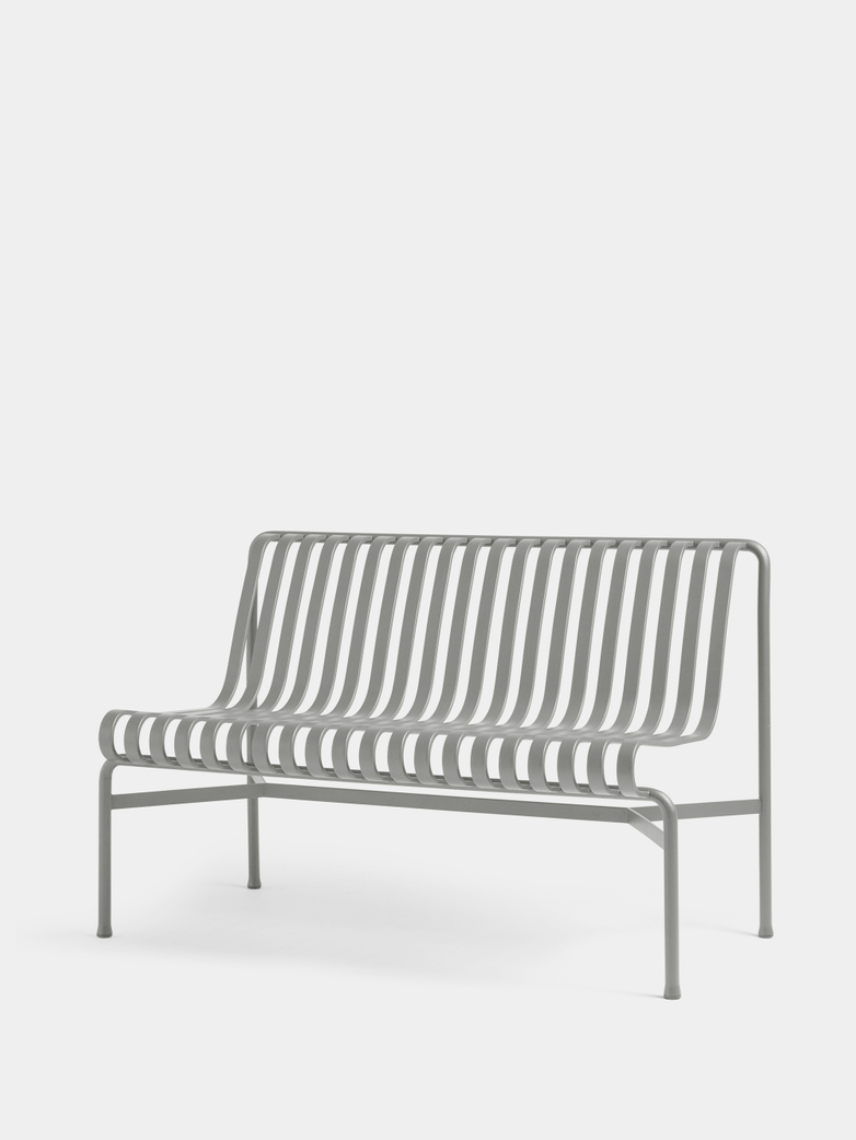 Palissade Dining Bench without Armrests - Sky Grey