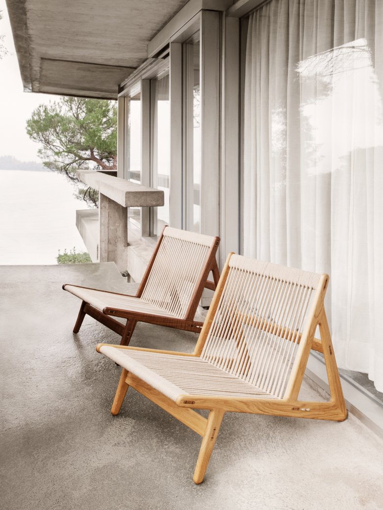 MR01 Initial Chair - Oiled Oak