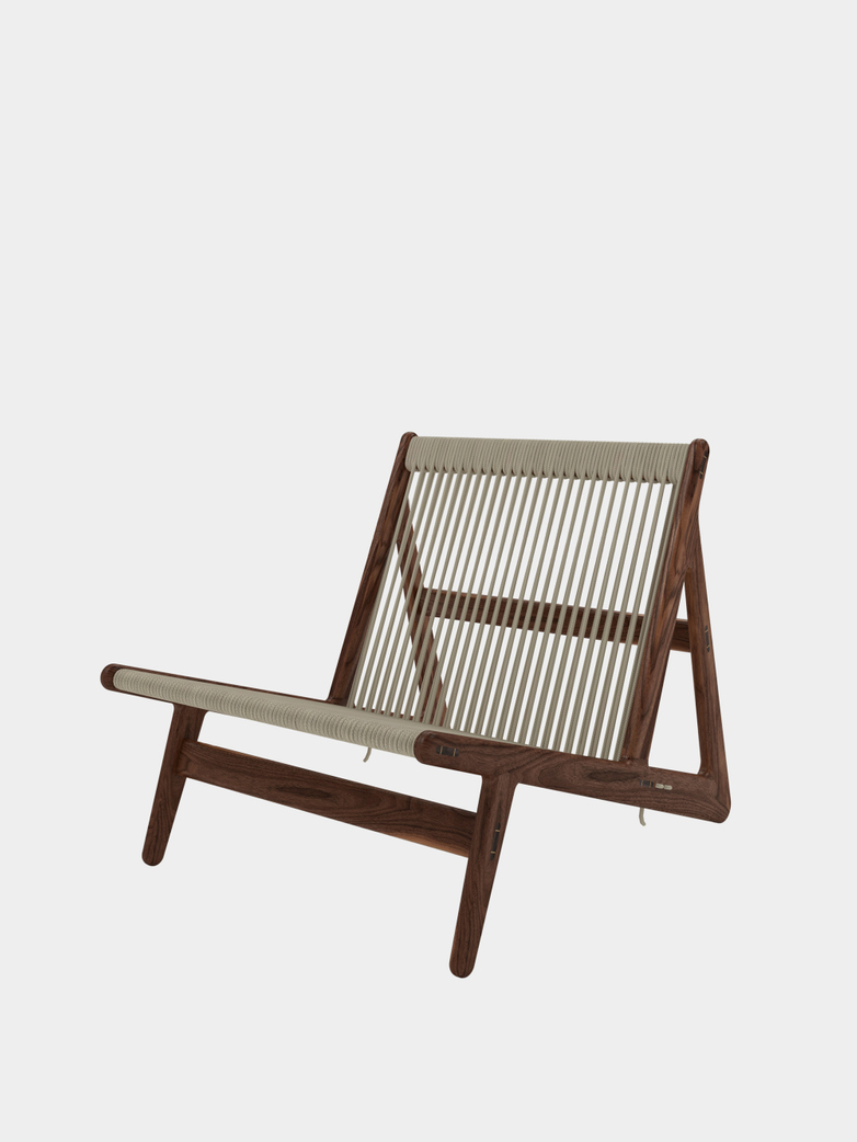 MR01 Initial Chair - Oiled Walnut