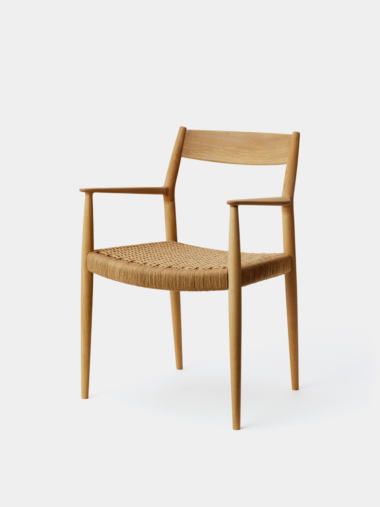 N-DC01 Armchair - Paper Cord Seat